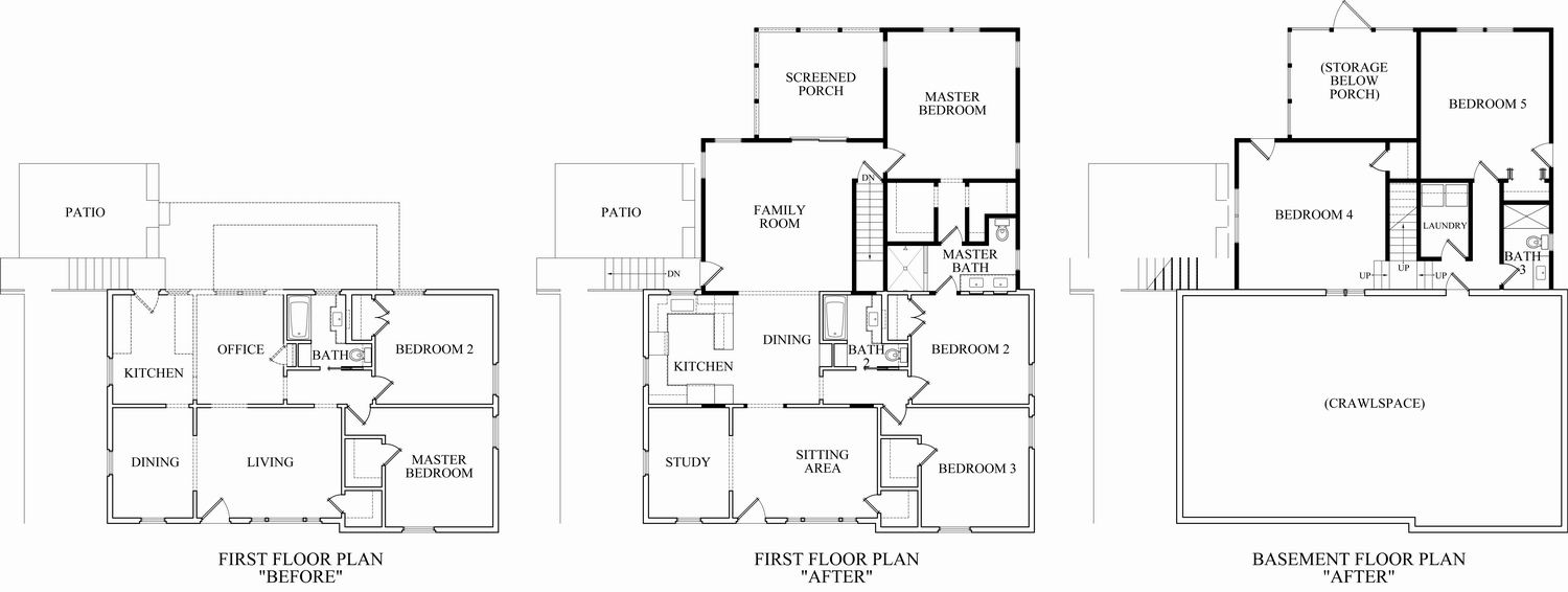 Laundry Room Addition Floor Plans