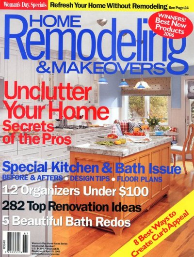Woman's Day Specials - Home Remodeling & Makeovers